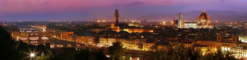 Panorama Florencie